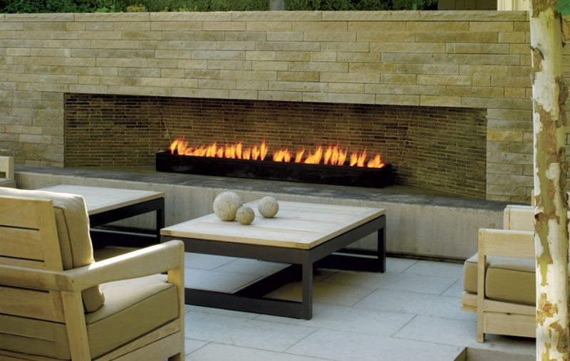 Amenagement rodier paysager paysagiste foyer fire pit for Foyer exterieur montreal