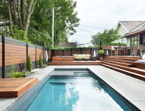 Contemporary Spa & Pool Landscaping: How We Did It