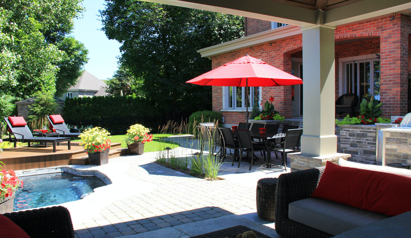 A complete patio from which you can recoup up to 67 % on investment