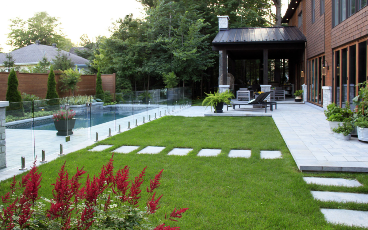 A beautiful lawn that can increase your home value by 15%